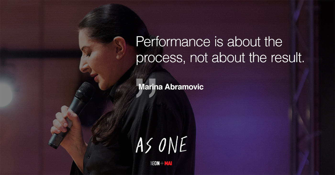performance marina abramovic