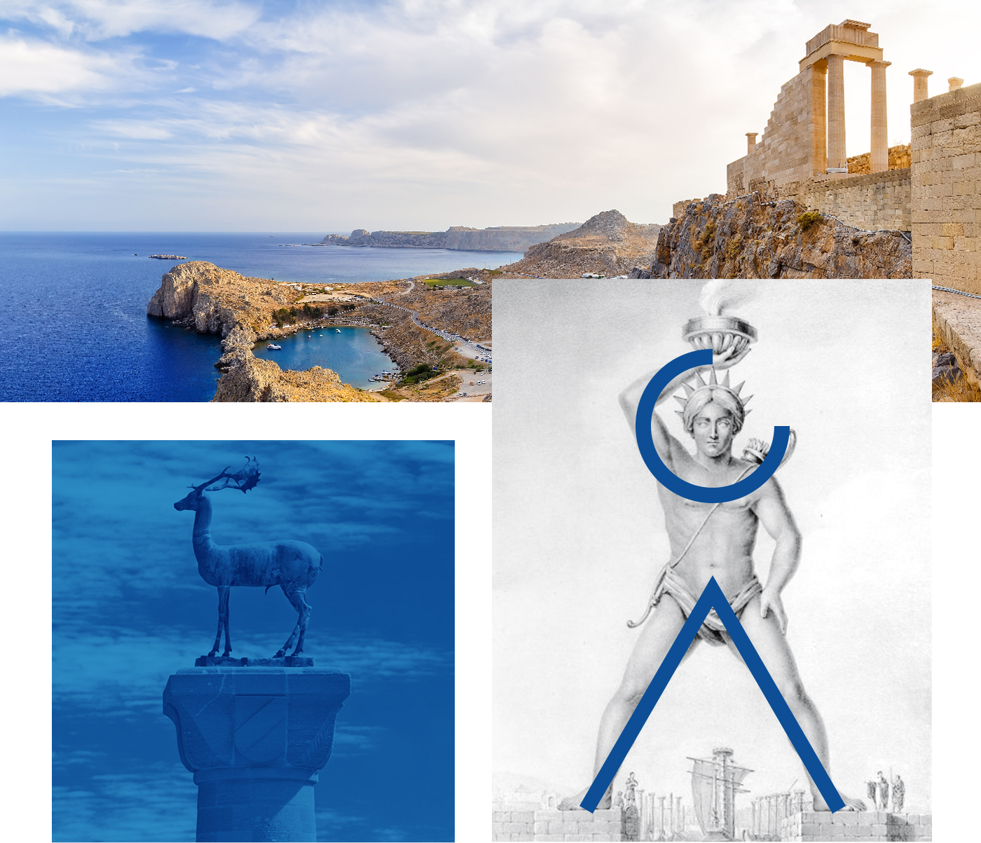 Interweave came up with a summation of Rhodes' history as well as the values of Amada Colossos