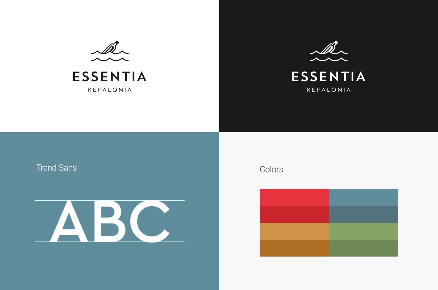 essentia different logos